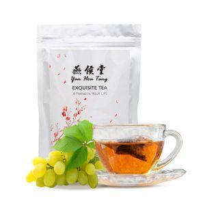 Organic Taiwan Fresh White Grape Oolong Tea Bags