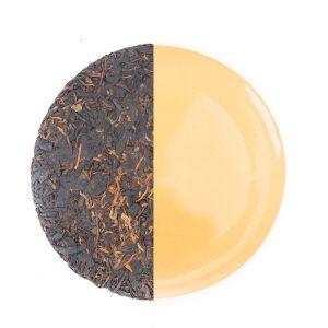 Organic Aged Puerh Pu-erh Tea China Yunnan 357g Cake Shape Ripe Fermented