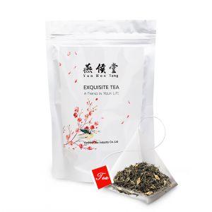 Jasmine Green Tea Bags Fragrant Flavor Flower