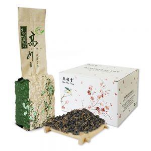 Organic Taiwan Dong Ding Oolong Tea Loose Leaf Tung Ting High Mountain  Half Fermented Caramel Taste